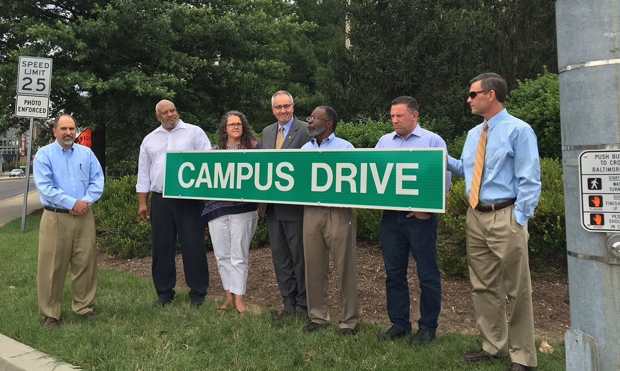 Paint Branch Parkway Renamed Campus Drive