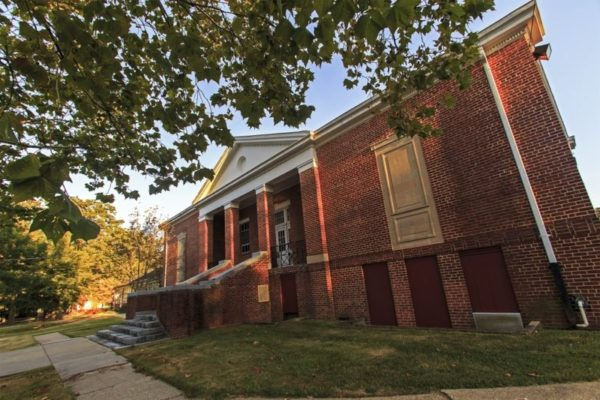 Former school on Calvert Road could be site for new day care facility. Image source: The Diamondback