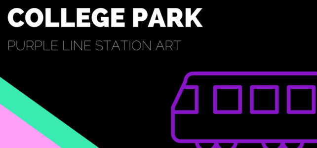 Purple Line Station Art