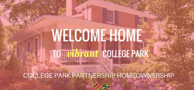 College Park City-University Partnership Homeownership Program Receives $150,000