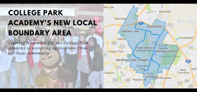 College Park Academy's new local boundary area