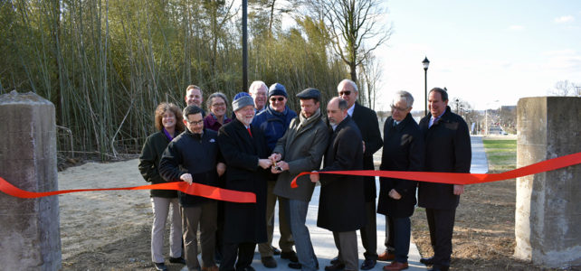 Sidewalk Connection Ribbon Cutting: Event Summary