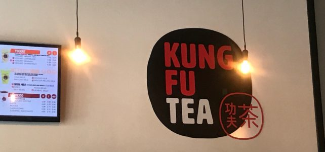 Bubble Tea at Kung Fu Tea