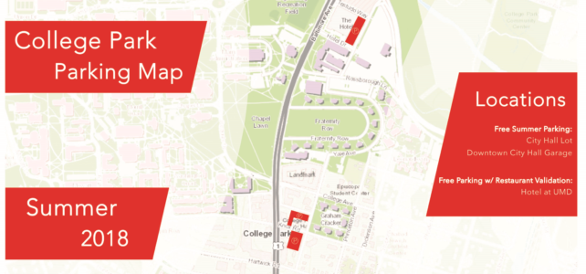 College Park Parking Maps