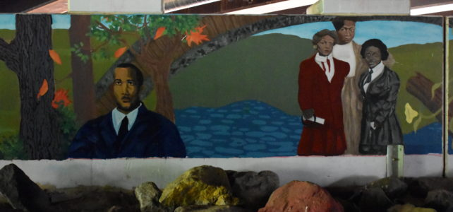 Paint Branch Bridge Mural