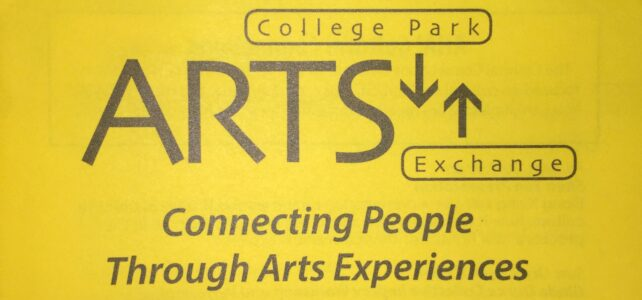 Getting Creative with College Park Arts Exchange