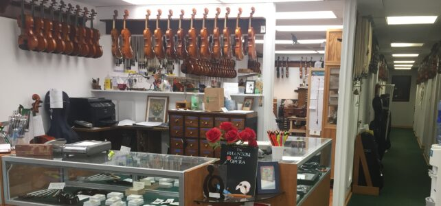 Gailes' Violin Shop: Full of Passionate and Experienced Music-Lovers
