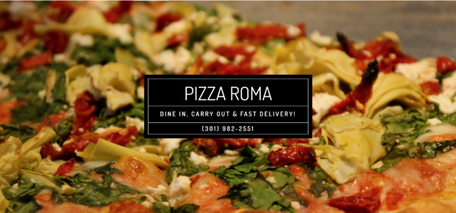 Support Pizza Roma