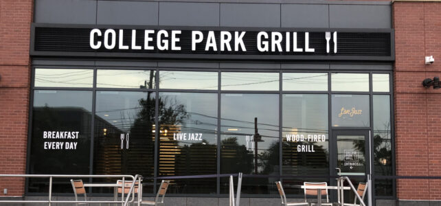Re-experience Dining In at College Park Grill!
